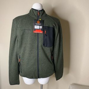 NWT Free Country Full Zip Performance Jacket
